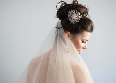 hair and makeup for bride